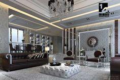 Wow! black gold grey room designs   ... Art Deco Living Room Ideas Image 551 Art Deco Living Room Design Ideas