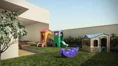 Perspectiva Artística do playground