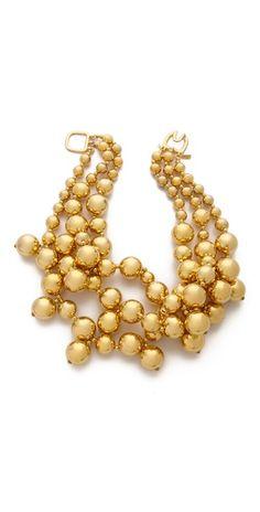 Kenneth Jay Lane Layered Beaded Necklace | SHOPBOP