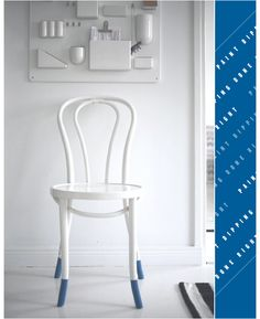 not the chair for the dining room...but i'm still loving the idea of the paint dipped legs on a Scandinavian, simple line chair. If you all want me to drop it, please tell me. I can take it!