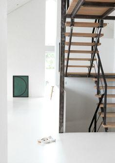 Staircase at Anna Leenas Home