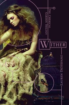 wither chemical garden series - Lauren Destefano ...Takes place in a future world where humans are genetically engineered to die at 20 (females) & 25 (males). Rhine is kidnapped from her twin in New York & taken all the way to Flordia with two other girls to be married to a rich architect. As she settles in to her life of trapped luxury she tries to find a way to escape.
