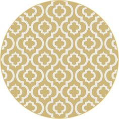 Universal Rugs Metro 1023 Round Contemporary Area Rug, 5-Feet 3-Inch, Yellow Universal Rugs,http://www.amazon.com/dp/B00I0QV2GC/ref=cm_sw_r_pi_dp_fP3etb0JYDXD0GMT