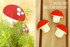 mushrooms made from baby bell cheese Fairy Baby Showers, Fairy Tea Parties, Tea Party, Woodland Baby, Woodland Theme, Woodland Animals, Childrens Party, Baby Shower Themes, Shower Ideas