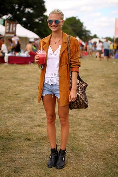 Street style at Wilderness Festival 2013