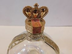 Vintage ROYAL DELUXE CHAMBORD LIQUEUR bottle decanter 750 ML Gold Crown Lid | eBay