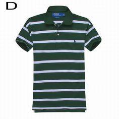 Polo Ralph Lauren\u0027s Striped Cotton Mesh Short Sleeve Shirts Green White
