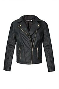 Assemetric zip through.<BR><BR>Fabric Pu<BR><BR>Wash Care:<BR>Wipe with a damp cloth Winter Outfits, Cool Outfits, Winter Must Haves, Biker Chick, Clip, Well Dressed, Lady, What To Wear, Winter Fashion