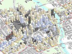 An artist impression of Parramatta City Centre, from the Draft Parramatta City Centre Plan