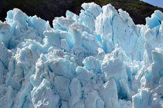 Blue Glacier Nature Photo by blindwolfspirit on Etsy, $17.00