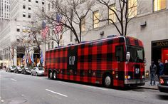 Gap Wrap, the bus contained dancers and signers who would also give out money off vouchers.