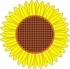 Cheery Lynn Designs - Sunflower - DL121, $7.95 (http://www.cheerylynndesigns.com/sunflower/)
