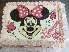 Minnie Mouse, Disney Characters, Fictional Characters, Art, Cakes For Kids, Pastries, Art Background, Kunst, Fantasy Characters