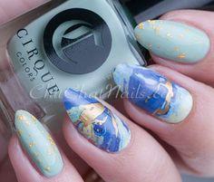 ThumbsUp Goldstone Nail Wraps – a REVIEW | ChitChat Nails