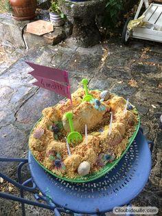 Gâteau chateau de sable | Ciloubidouille