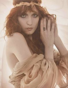 editorial: florence welch for vogue uk   PURE FEROCITY