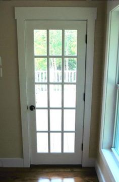Full Glass Panel With Grid #Door #Catskillfarms · Basement StairsExterior  DoorsBack ...