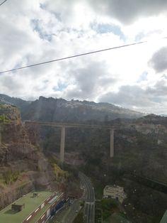 Teleferico, Funchal→Monte,  Madeira Portugal (Luglio)