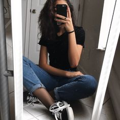 """Find and save images from the """"FOTOS PARA INSPIRAÇÃO"""" collection by Lai (dangerousgirlz) on We Heart It, your everyday app to get lost in what you love. Grunge Outfits, Grunge Fashion, Girl Fashion, Fashion Outfits, Cool Outfits, Summer Outfits, Casual Outfits, Style Grunge, Look Cool"""