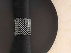 100157-001_TABLE_RAYMAILLE STEEL MESH_STAINLESS STEEL_1.5IN_HIGH_620x465
