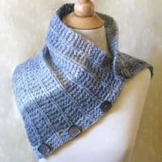 Knitting Pattern Convertible Cowl Capelet Scarf by KnittingGuru