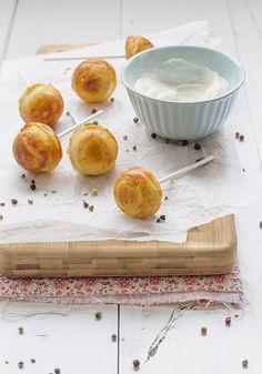 Cocinando sabores: Cake pops de queso