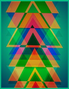 Triangles by Saad Mohammed, via Behance