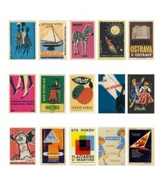Vintage Matchboxes by jacqueline