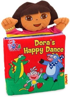 Dora's Happy Dance: A Hand Puppet Book