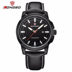 LONGBO Charming Men Watch Week Luminous Waterproof Watch