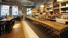 Bar and Restaurant design Bristol: interior refurbishment