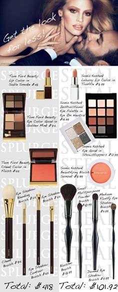 Splurge vs. Steal promoting Sonia Kashuk:)