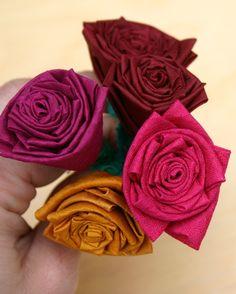 Silk Roses by Darn Good Yarn | The Best Yarn Store!