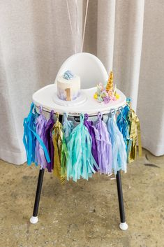 This unicorn themed birthday party is every little one year old's dream! If you are celebrating a first birthday party in your family, consider this fun unicorn event design for a bright color scheme and unicorn inspiration. Unicorn Themed Birthday Party, One Year Birthday, Baby Girl First Birthday, Unicorn Party, First Birthday Parties, Birthday Party Decorations, First Birthdays, Unicorn Decor, Birthday Ideas