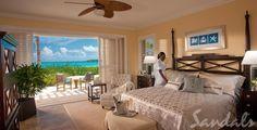 Our Honeymoon! Sandals Honeymoon Concierge Beachfront Walk Out Room - cant wait.