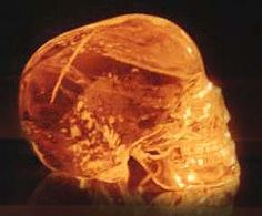 the Mitchell-Hedges skull is probably the strangest gemstone in the world (copyright of F.R. Nocerino)