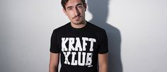 Kraftklub - T-Shirt - Tape - schwarz