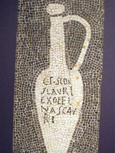"""""""Fish Sauce: An Ancient Roman Condiment Rises Again"""" story. Fish sauce was a staple in Ancient Roman cooking. This mosaic, from Pompeii, would have decorated the floor of a garum shop. Ancient Roman Food, Ancient Fish, Ancient Rome, Ancient Aliens, Ancient Greece, Ancient History, Medieval Recipes, Ancient Recipes, Vietnamese Fish"""