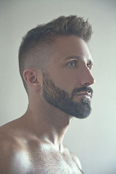 The intense look - Best Undercut Hairstyle For Men