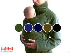 Maternity. Babywearing. Coat. Jacket. Baby Wearing. Baby Wearing Jacket. CANADA. Sling Coat. Carry Coat. Wrap Coat. on Etsy, $163.84