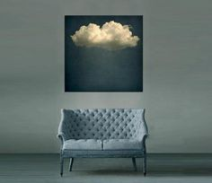 The Horsebox Gallery; Cloud Play Series: Cloud Play 1 by JR Goodwin; 36 x 36 Hand-stretched canvas print over heavy-duty 4cm deep stretchers. The artwork is numbered with the edition. Please contact the gallery at ernorth@thehorseboxgallery.com for further details pricing & availability. Prices begin at $729.