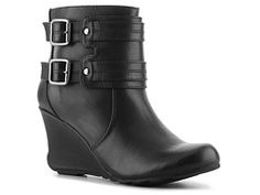 Kenneth Cole Reaction Show House Wedge Bootie I like the grey ones too!