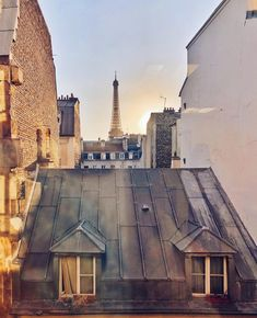 Paris Rooftops, Paris Apartments, Cabin, House Styles, World, Home Decor, Decoration Home, Room Decor, Cabins