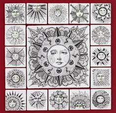 zentangle sun | Zentangle Inspired Sun | doodles, zendoodles, zentangles