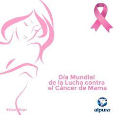 Existen muchos factores de riesgo para desarrollar cáncer de mama y se estima que una de cada 8 mujeres desarrollará dicha enfermedad. Por ello, la detección oportuna favorece las probabilidades de tener un tratamiento a tiempo. Aprende a detectar el cáncer de mama en alpura.com/alpuramujer  ¡Unidos en la lucha contra el cáncer de mama! #AlpuraMujer