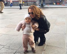 Happy day out! As Tamara Ecclestone shared a sweet picture of herself with daughter Sophia in Milan, she opened up about 'losing all dignity' in motherhood