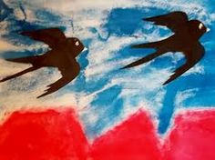 Image result for vlaštovka z papíru Projects To Try, Painting, Image, Art, Spring, Art Education, Art Background, Painting Art, Kunst