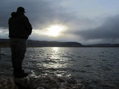 Fishing Wyoming before the storm