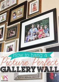 Great Gallery Wall Tips For Your Blank Wall!