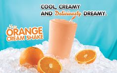 New Orange Cream Shake at Arby's